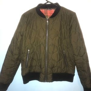 LL Bean Signature Bomber Jacket